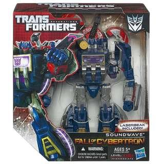 Transformers Fall of Cybertron Soundwave Series 01