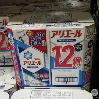 抗菌防臭洗衣精補充包 ARIEL 6包