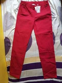 🚚 Red jeggings