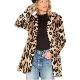 Bardot Leopard print coat