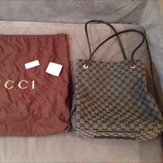 Authentic Gucci Shoulder Shopper Bag