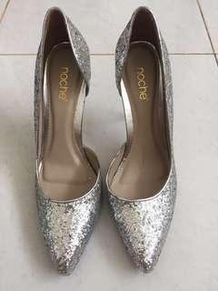 Noche Silver Gliter Size 38