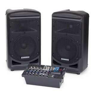 Rental of Portable PA Sound System - Samson XP800