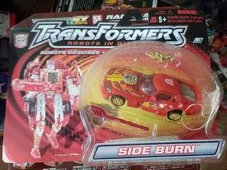 Transformers Robots in disguise Side Burn