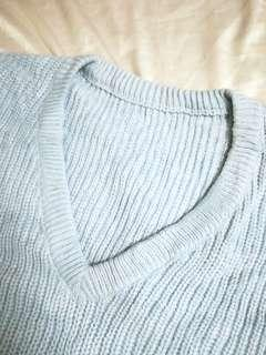 Plus size Knitted Pullover Sweater
