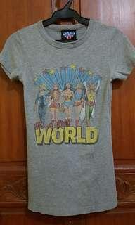 Vintage junk food US heroes shirt
