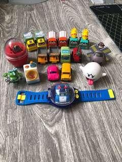 🚚 照片全部玩具 poli 迴力車 麵包超人