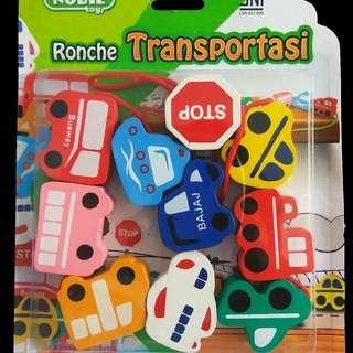 Mainan Kayu Ronche Transportasi