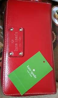 (REPRICE) Kate Spade Long Red purse