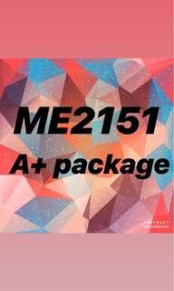 ME2151 A+ package