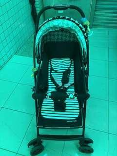 Mother's love嬰兒推車 送機車椅 也可以當小推車