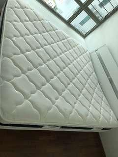 Kingsize mattress in good condition, $100 free delivery