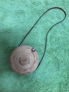 🚚 編織圓形小包