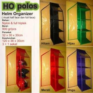 Rak helm (Helm Organizer Zipper)