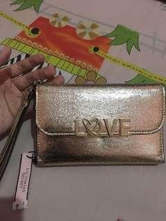 Victoria Secret wallet gold