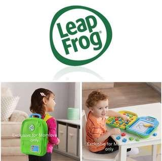 Ready Stock ! Brand New Leapfrog Go-With-Me ABC Backpack (Frustration Free Packaging) *Best For Baby/Children Birthday Present* (Educational Alphabets Learning Toys)
