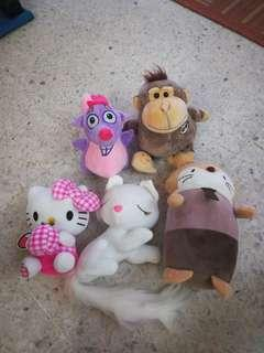 Plushies bundle / soft toys