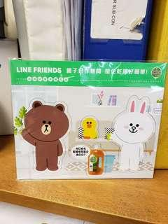 Line friends 磁石貼