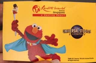 Universal studios (Physical Tickets)