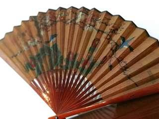 Vintage Chinese Fan Good Condition