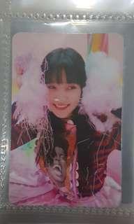 Red Velvet Yeri Photocard Rookie