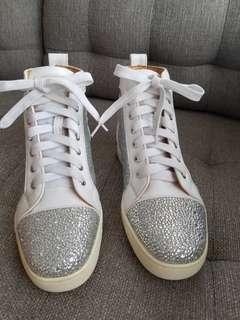 Christian Louboutin high cut sneakers