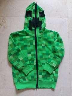 Minecraft kids jacket 5-7year