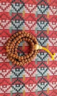 Rudraksha (5 face) Prayer Beads Chain (Very Small Beads)
