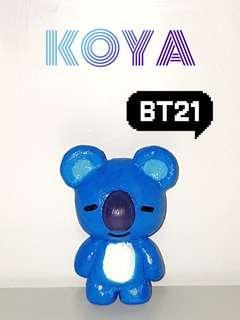 BT21 Handmade Clay Koya