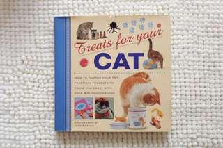 Treats for Your Cat hardbound
