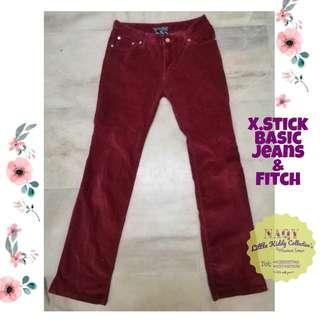 X. Stick Basic Jeans