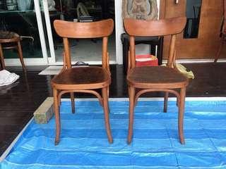 Antique Cock Brand Kopitiam Chairs
