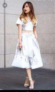 Duchess and Co floral skirt