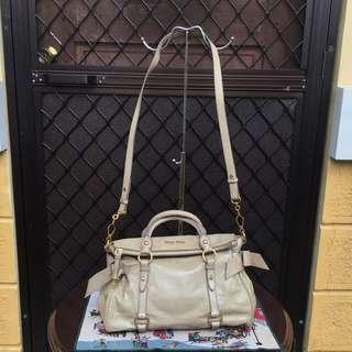 Authentic Miumiu Bow Bag
