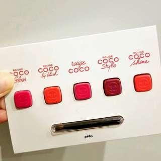 [Unused Sample] Chanel lipstick sample 唇膏