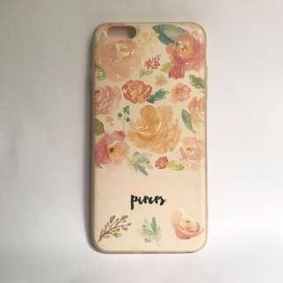(PHP 150 for both cases) Iphone 6+/6s+ soft pink silicone