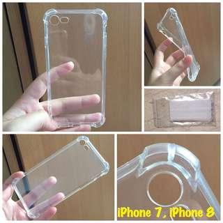 BNIP iPhone 7/8 Transparent Case with Reinforced Corners