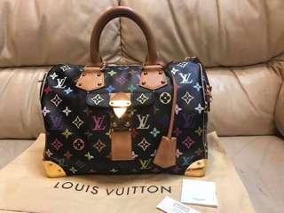 Authentic Louis Vuitton Multicolor Noir