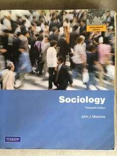 (Pearson) Sociology 13th edition (International Edition)