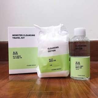 Etude House Monster Cleansing Travel Kit