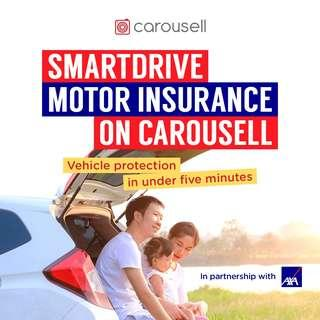 What's SmartDrive Motor Insurance on Carousell?