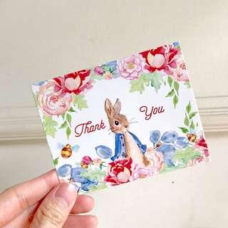 [New] Thank you cards for sale