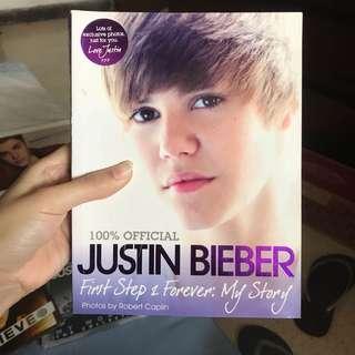 Buku justin bieber first step 2 forever: my story original 100%