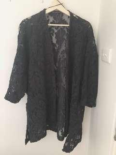 Zara lace coat