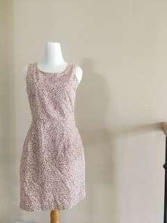 Korz paisley sleeveless dress