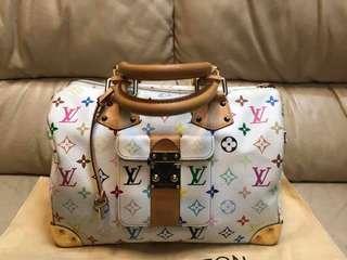 Authentic Louis Vuitton Multicolor Blanc