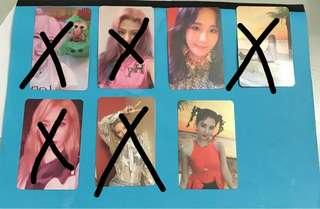 WTS SNSD HOLIDAY NIGHT PHOTOCARD