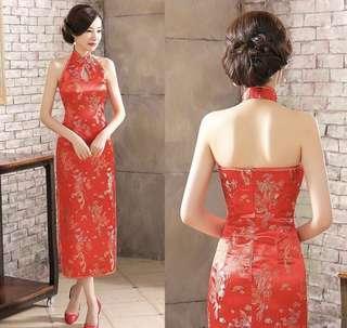 CNY sleeveless maxi dress