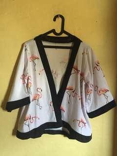 📌SALE flamingo kimono outer