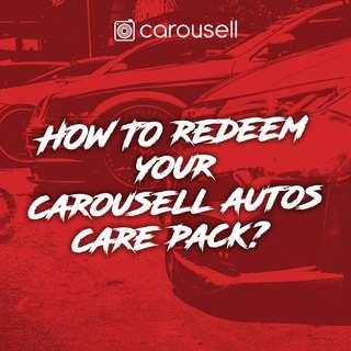 Redeem Your Carousell Autos Care Pack!